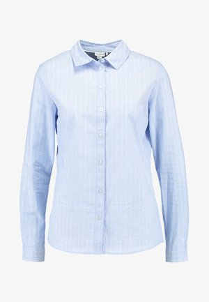 JDYMIO - Button-down blouse - blue/cloud dancer