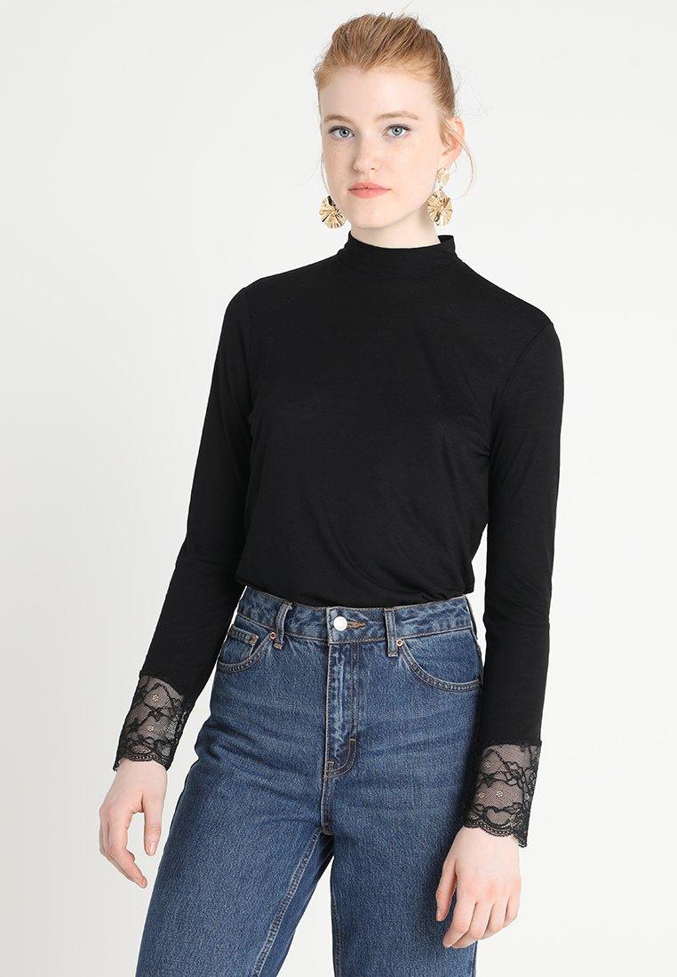 JDY - JDYCARLA  - T-shirt à manches longues - black
