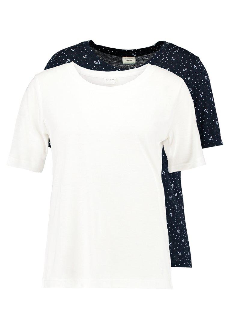 JDY - JDYFILIPPA 2PACK - T-shirts print - sky captain