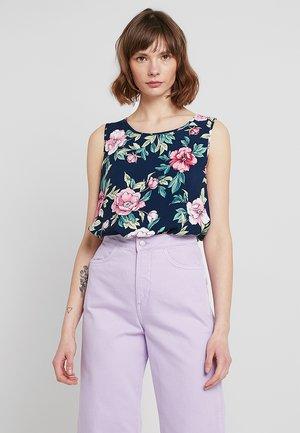 JDYSTAR - Blouse - navy blazer/pink