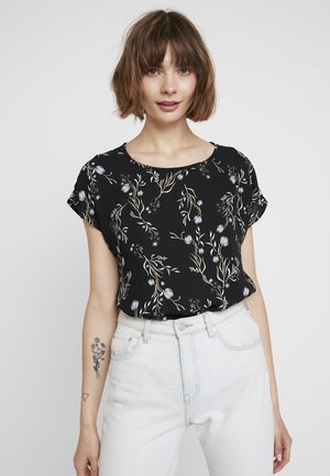 JDYWIN TREATS NECK - Blusa - black
