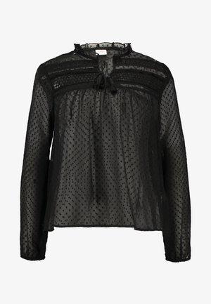 JDYSTONE BLOUSE - Bluse - black