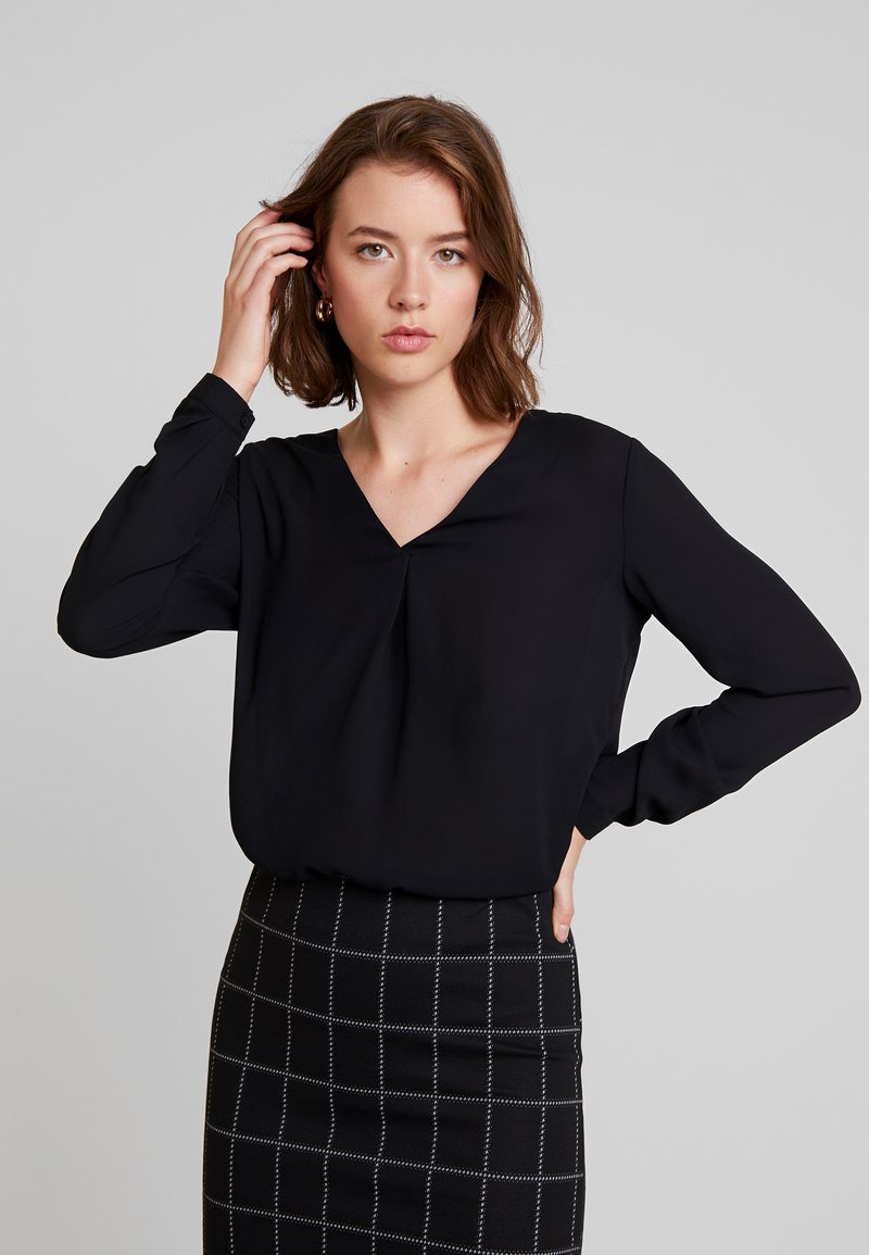 JDY - JDYLILLIAN HI-LOW - Blouse - black