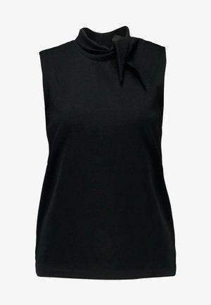 JDYCATIA NECK BINDING  - Top - black