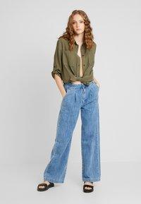 JDY - JDYNELSON  - Button-down blouse - kalamata - 1