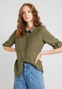 JDY - JDYNELSON  - Button-down blouse - kalamata - 0