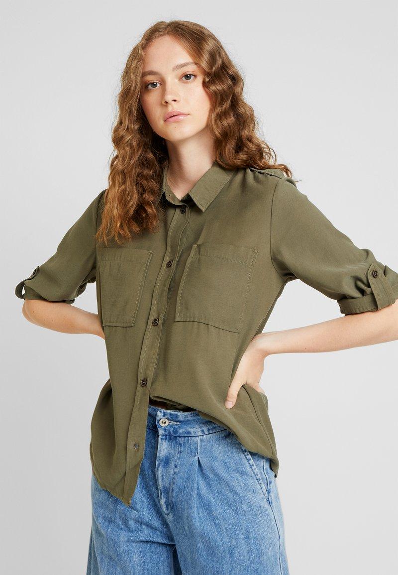 JDY - JDYNELSON  - Button-down blouse - kalamata