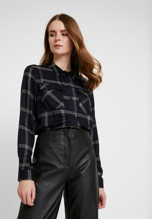 JDYCHECKY POCKET - Košile - black/gray