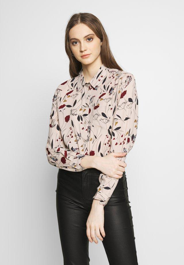 JDYMIE - Button-down blouse - sandshell
