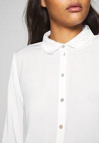 JDY - BLOUSE - Button-down blouse - cloud dancer - 3