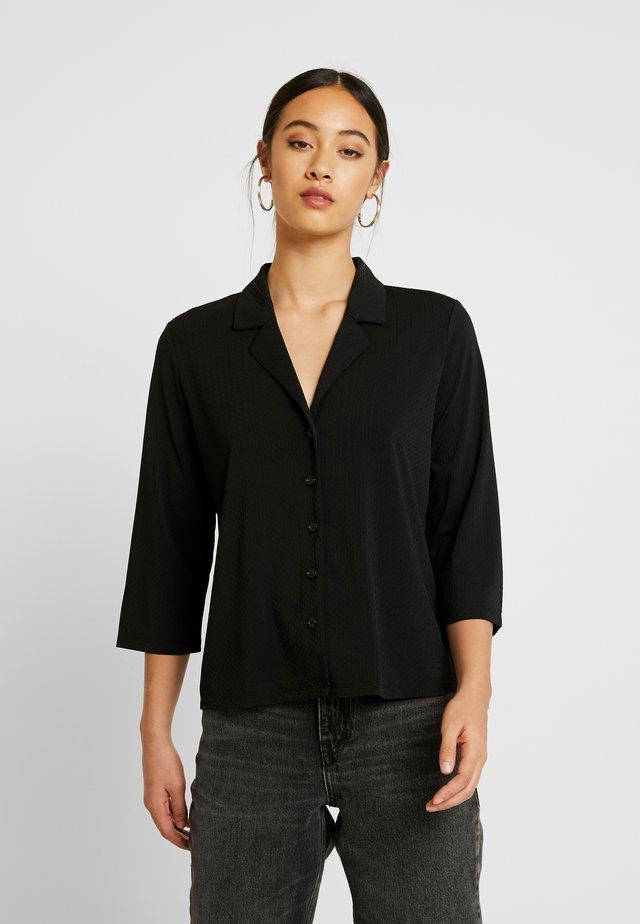 JDYWELLINA - Button-down blouse - black