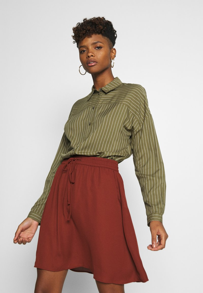 JDY - Button-down blouse - martini olive