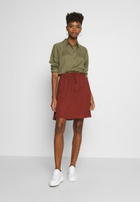 JDY - Button-down blouse - martini olive - 1
