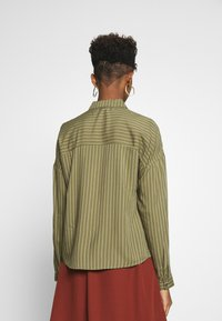 JDY - Button-down blouse - martini olive - 2