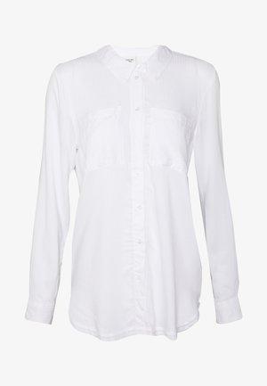 JDYTOM SHIRT - Button-down blouse - bright white