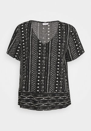 JDYTIFFANY - Blouse - black/sandshell