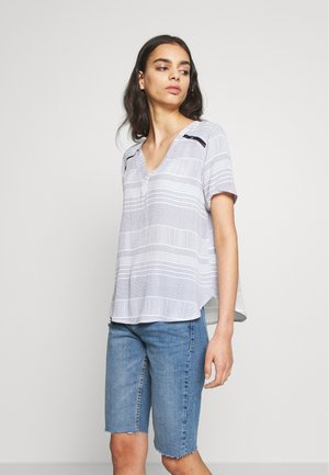 JDYSUM - Blouse - bright white/mood indigo