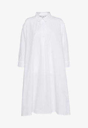 JDYSIF LONG SHIRT DRESS - Shirt dress - bright white