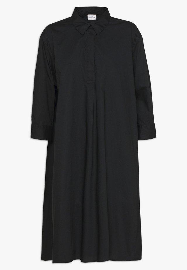 JDYSIF LONG SHIRT DRESS - Shirt dress - black