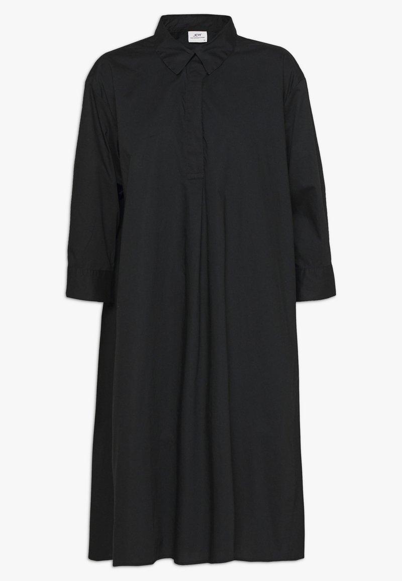 JDY - JDYSIF LONG SHIRT DRESS - Skjortekjole - black