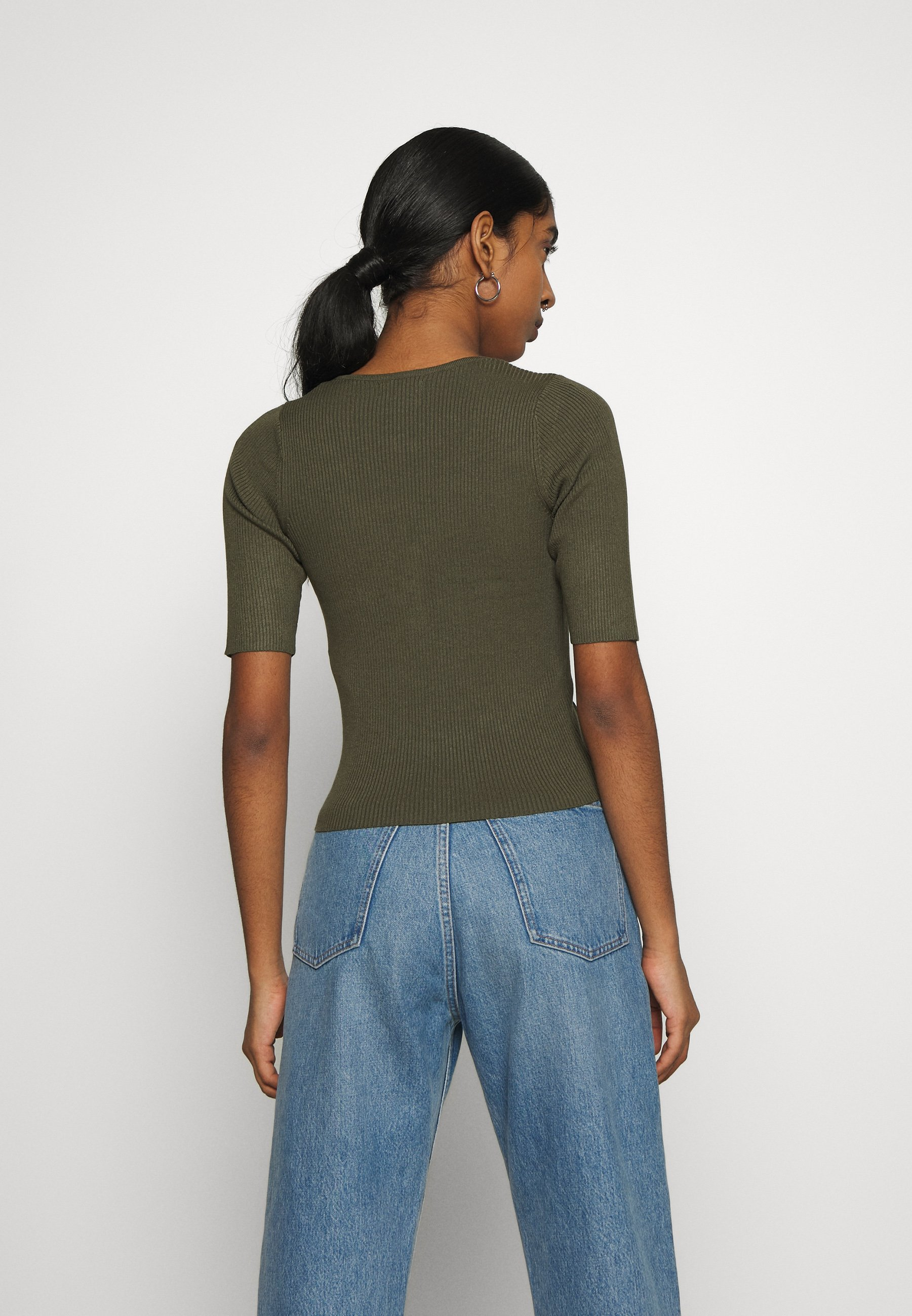 JDY JDYYUMMY - T-shirt z nadrukiem - kalamata