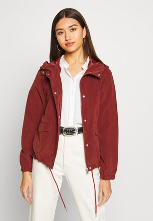 JDYHAZEL SHINE JACKET - Lett jakke - brown