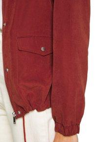 JDY - JDYHAZEL SHINE JACKET - Lehká bunda - brown - 5