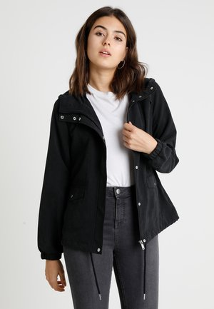 JDYHAZEL SHINE JACKET - Summer jacket - black