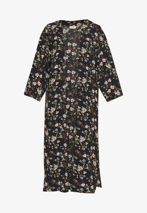 JOSEPHINE LONG KIMONO - Leichte Jacke - black/multicolor