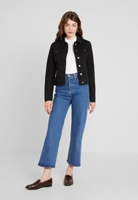 JDY - Denim jacket - black denim - 2