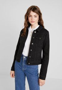 JDY - Denim jacket - black denim - 0