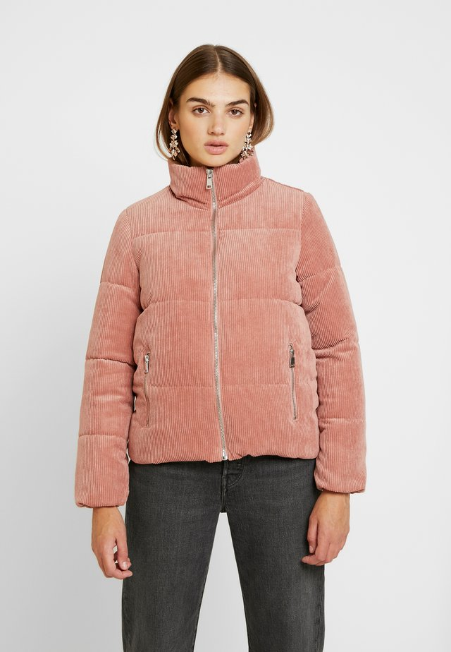 JDYLEXA PADDED JACKET - Vinterjakker - old rose