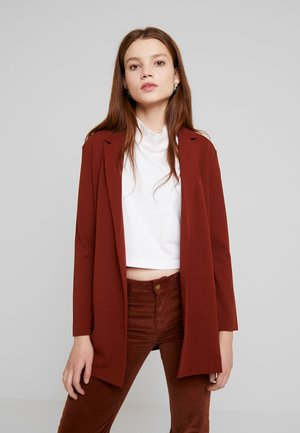 JDYGEGGO TREATS - Short coat - dark red