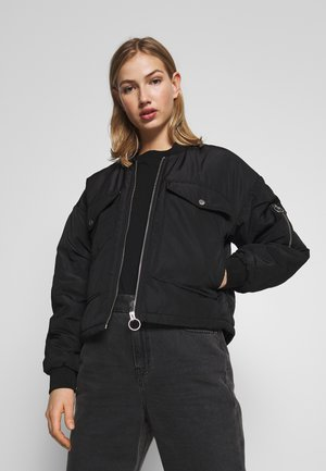 JDYPI PADDED JACKET - Bomber bunda - black
