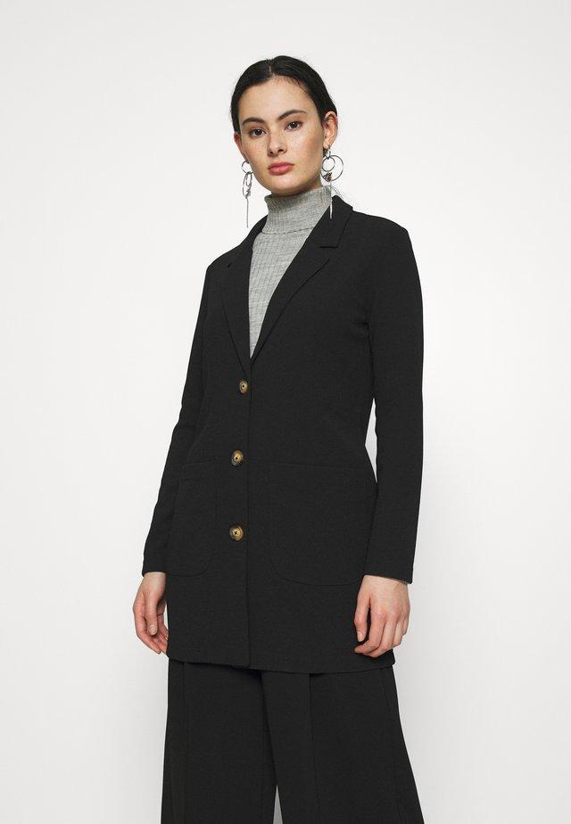 JDYSTONE SPRING JACKET - Krátký kabát - black