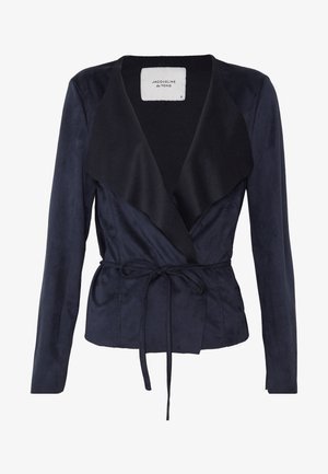 JDYROBINA BELT JACKET - Giacca in similpelle - sky captain