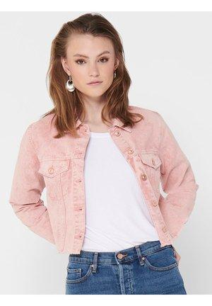 GESCHNITTENE - Denim jacket - mellow rose