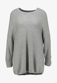JDY - Strickpullover - light grey melange - 4