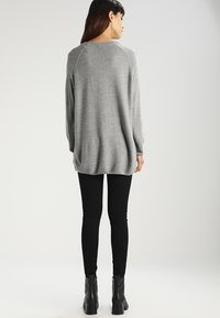 JDY - Strickpullover - light grey melange - 2