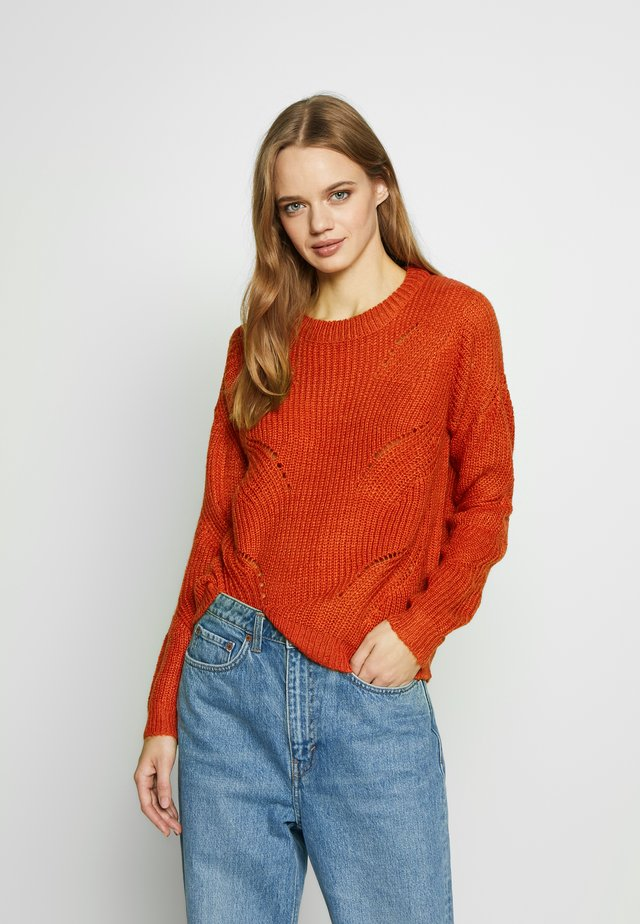 JDYDAISY - Sweter - chili