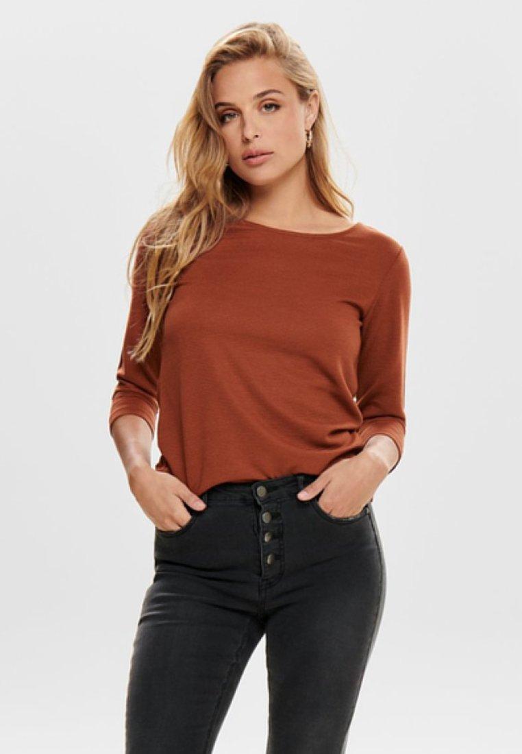 JDY - JDYSAGA - Long sleeved top - brown