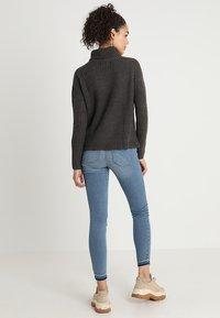 JDY - Pullover - dark grey melange - 2