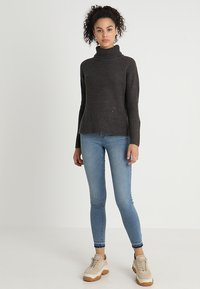JDY - Pullover - dark grey melange - 1