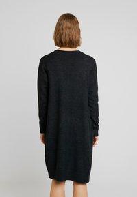 JDY - Kardigan - dark grey melange - 2