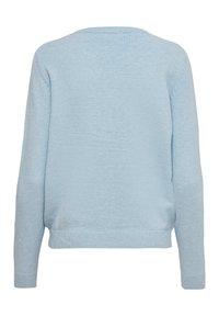 JDY - JDYMARCO - Sweter - cashmere blue - 1