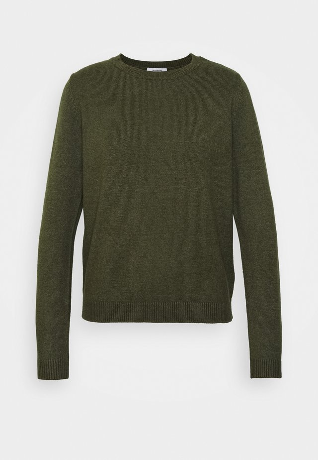 JDYMARCO - Strickpullover - forest night melange