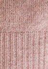 JDY - JDYNEW PLATINUM - Stickad tröja - woodrose/melange