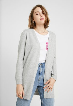 JDYNEW OPEN CARDIGAN - Kofta - light grey melange