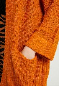 JDY - JDYTAMMY BOXY CARDIGAN - Cardigan - autumn maple/melange - 4