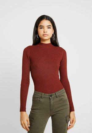 JDYMARYAN HIGH NECK - Sweter - smoked